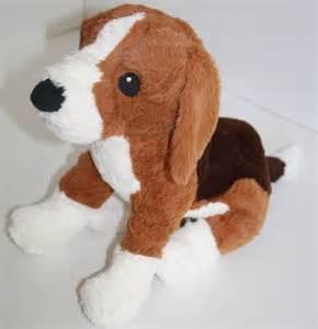 Ikea Dogs ikea gosig valp beagle dog tan brown white plush soft