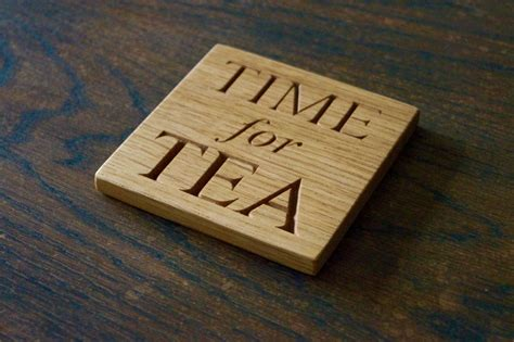 Wooden Coaster personalised wooden coasters makemesomethingspecial