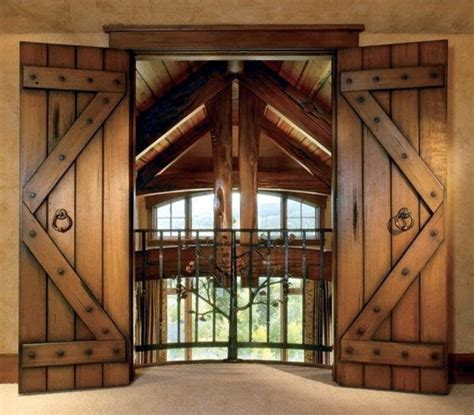 rustic bedroom doors interior doors