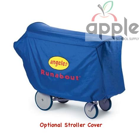 angeles runabout 6 seat stroller cover free shipping