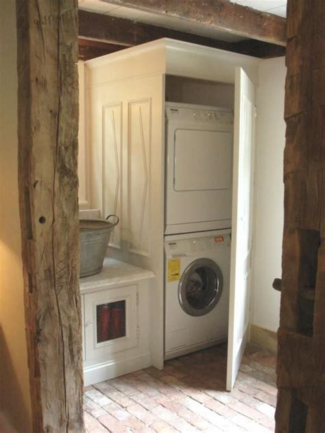 doors to hide washer and dryer laundry 703 washington st to do list pinterest