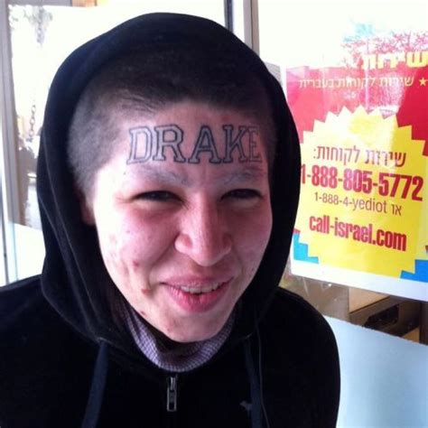 girl with drake tattoo on forehead 30 best drake tattoos for girls images on pinterest arm