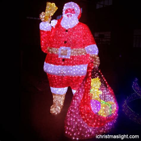 Outdoor Lighted Santa Claus Led Santa Claus Ichristmaslight
