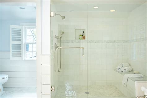 Large walk in shower traditional bathroom tr building amp remodeling