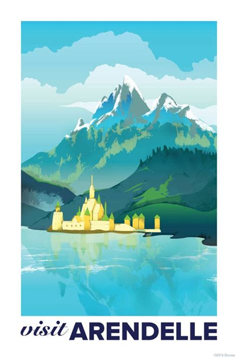 frozen french poster elsa and anna photo 35932156 fanpop frozen vintage travel posters for the kingdom of arendelle