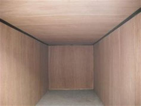 Lining A Shed With Plywood by 40ft Containers Second Containers Direct