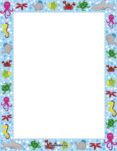 free printable vector stationery ocean border watermarked jpg 2550 215 3300 keretek