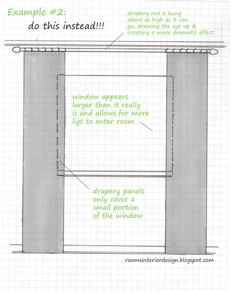 how to hang window curtains how to hang curtains well great info pinterest