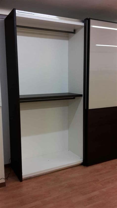 armadio in vetro armadio scorrevole vetro e legno scontato armadi a