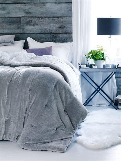 velvet linen kingsize quilt dove grey bed bath indoor living bedroom feng shui