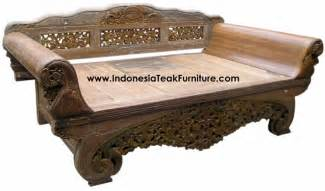 Balinese Day Bed Cheap Teak Wood Daybeds Bali Indonesia Furniture Bali Crafts