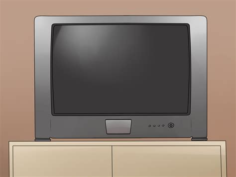 Tv Crt How To Clean A Crt Tv 6 Steps With Pictures Wikihow