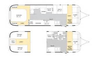 airstream trailers interior floor plans trend home airstream classic floor plans trend home design and decor