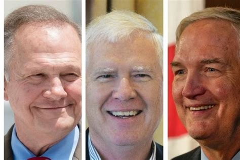 roy moore final polls judge roy moore leading in alabama u s senate race