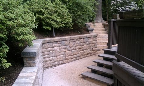 how much does a retaining wall cost in northern virginia