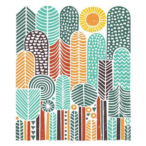 design milk society6 tree themed artwork and products from society6 design milk