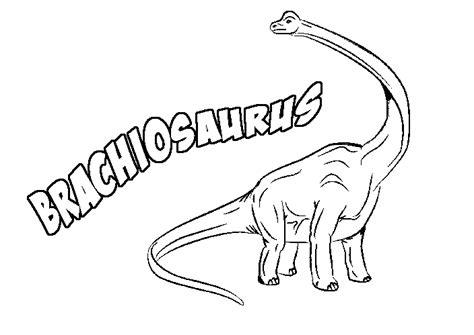 printable brachiosaurus coloring page coloringpagebook com