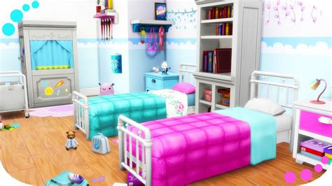 bedroom for 4 kids the sims 4 twin girls bedroom parenthood kids room