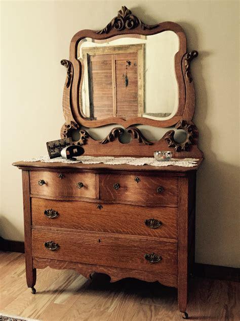 Commode Antique Avec Miroir by Antique Oak Dresser With Mirror Antique Dressers