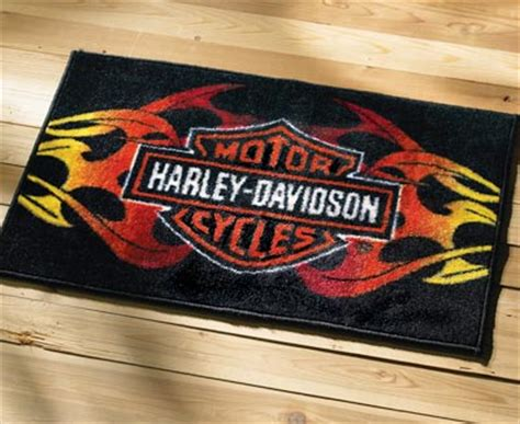 Harley Davidson Area Rugs Collections Etc Find Unique Gifts At Collectionsetc
