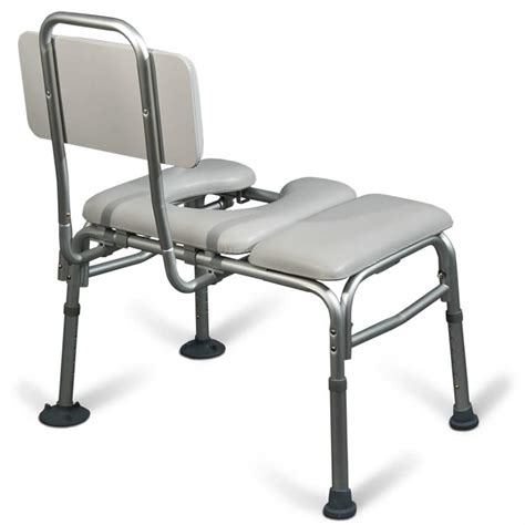 bathtub transfer benches aquasense padded bathtub transfer bench with commode opening