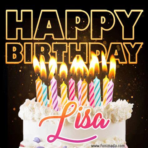 happy birthday gifs  lisa   funimadacom