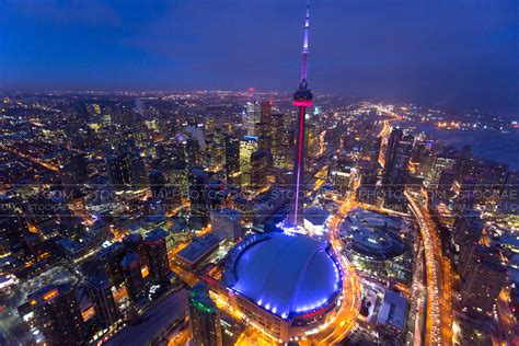 Finder Toronto Aerial Photo Downtown Toronto At