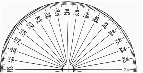 printable protractor with lines olympic math 2012 arc to arc