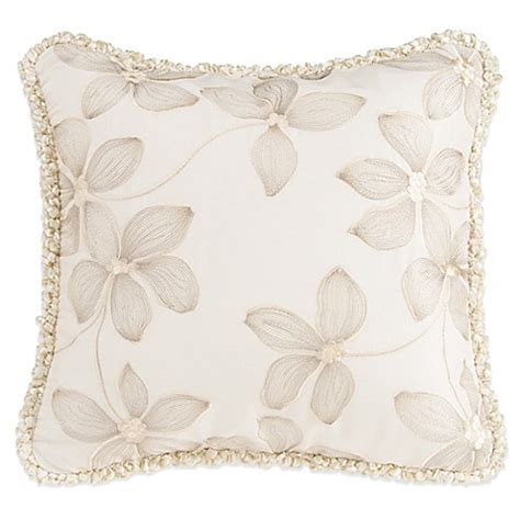 bed bath and beyond florence sc buy glenna jean florence embroidered floral throw pillow