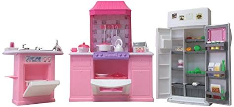 barbie kitchen furniture barbie size dollhouse furniture kitchen set import it all