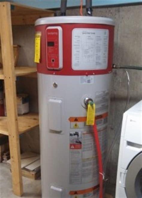 geospring electric heat pump water heater revision heat