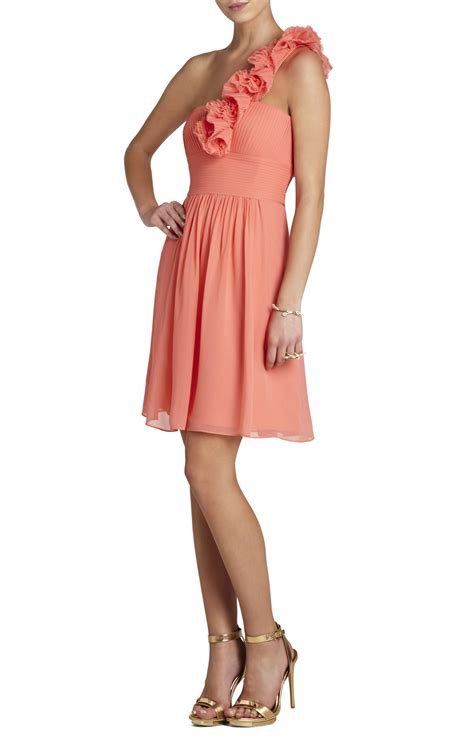 Talia Dress bcbgmaxazria thalia one shoulder dress bcbg
