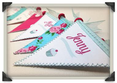 mini bunting for card mini bunting wedding place cards from postman s knock