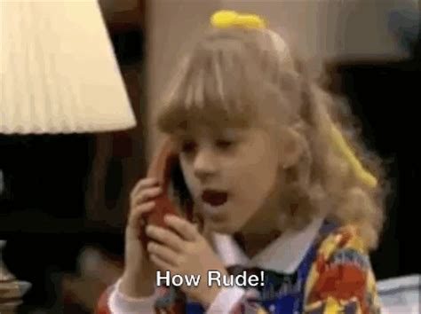 how rude full house full house gif find share on giphy