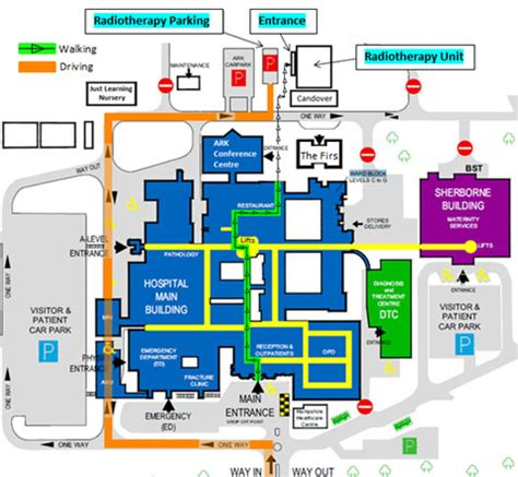 Floor Plan Of Hospital by Radiotherapy Hampshire Hospitals Nhs Foundation Trust