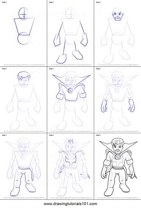 printable heroes tutorial how to draw dr strange from the super hero squad show