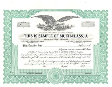10 11 sample stock certificate genericresume