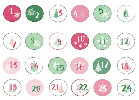 Calendario Q Dia Es Hoy Calendario De Adviento Descargable Y Tutorial