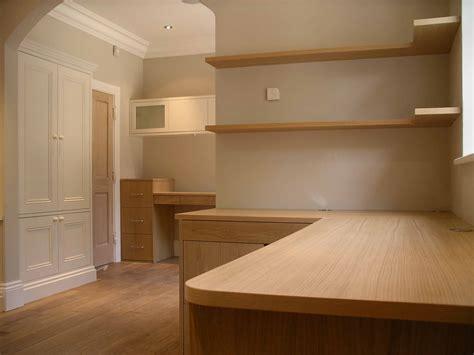 custom furniture in built wardrobes study office by peter henderson furniture brighton uk