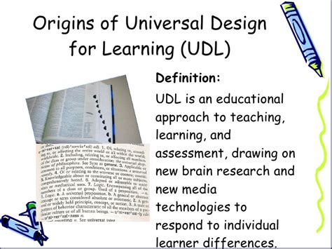 definition universal design for learning 20 minute overview