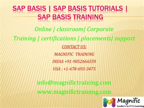tutorial sap basis pdf sap basis sap basis tutorials sap basis training