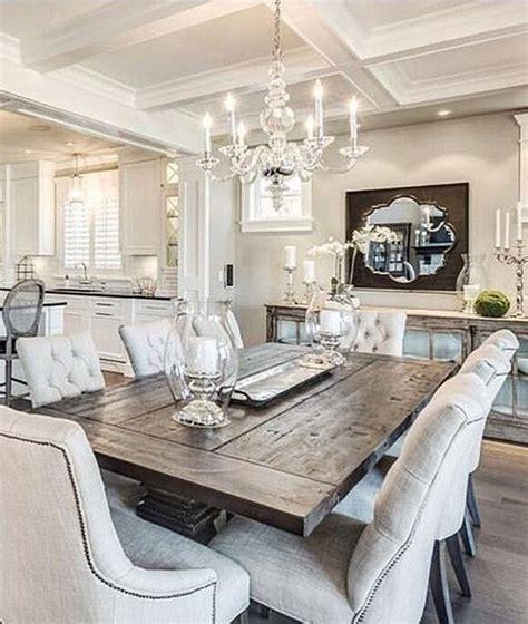 elegant farmhouse dining room decor dining room table