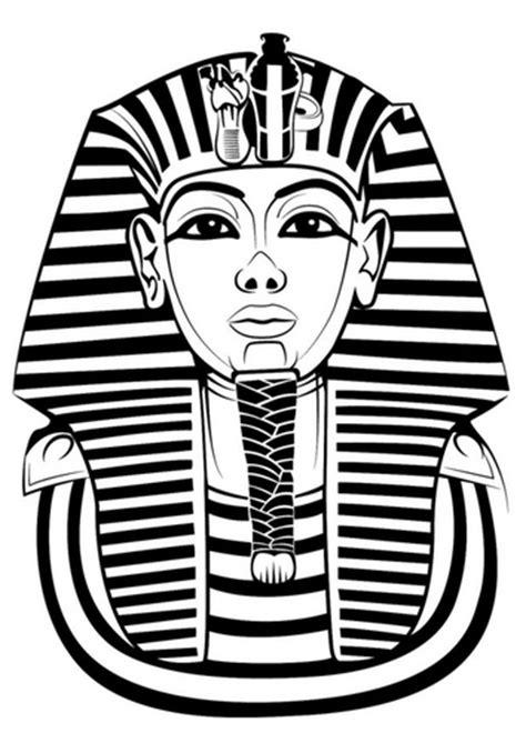 tutankhamun mask template recursos de educacion infantil abril 2012