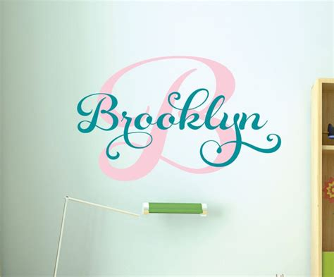 Personalized Wall Decals For Nursery 26 Best Images About On Pinterest Name Wall Decals Rooms Decor And Names