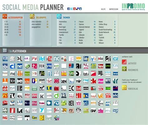 social media planner inpromo social media planner joachimott journal