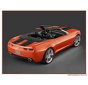 Le Concept Car Chevrolet Camaro Cabriolet  Actualit