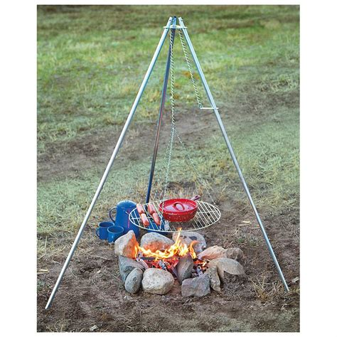 Camp Kitchen Organizer - camp chef 174 lumberjack over the fire tripod grill 235326 stoves at sportsman s guide
