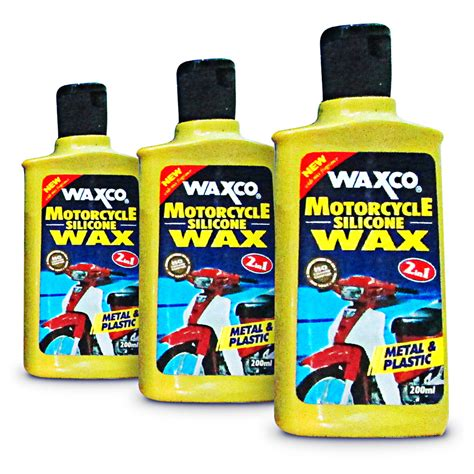 Waxco Car Accessories waxco motorcycle silicone wax 2 in 1 elevenia