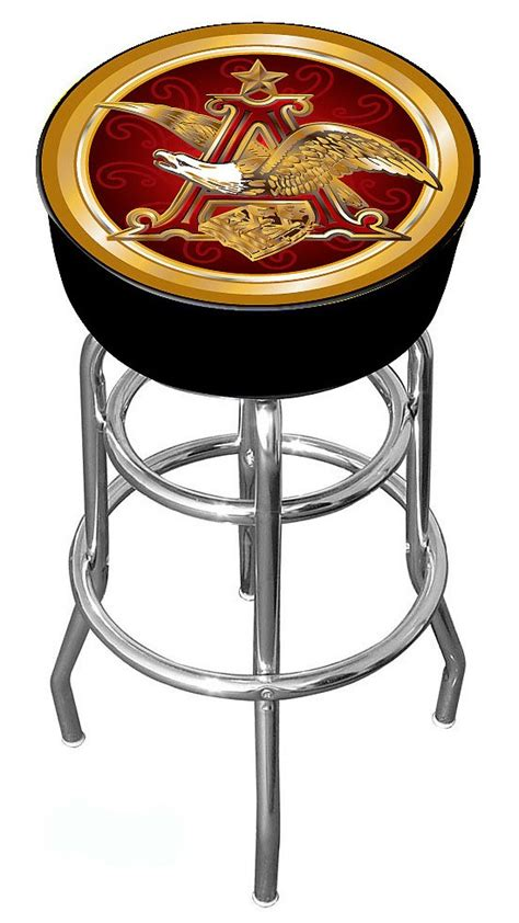 Busch Light Bar Stools by Anheuser Busch Bar Stool Eagle Officially Licensed