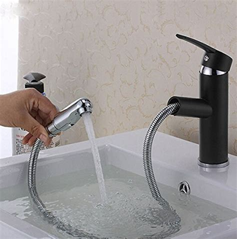 pull out bathtub faucet pull out oil rubbed bronze bathroom sink faucet